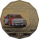50 Cents - Elizabeth II (Holden High Octane - 1984 VK Commodore) – reverse