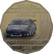 50 Cents - Elizabeth II (Holden High Octane - 1996 VR Commodore) -  reverse