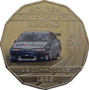 50 Cents - Elizabeth II (Holden High Octane - 1996 VR Commodore) -  reverse