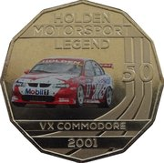 50 Cents - Elizabeth II (Holden High Octane - 2001 VX Commodore) -  reverse