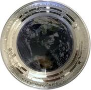 5 Dollars - Elizabeth II (The Earth) -  reverse
