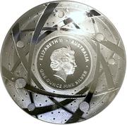 5 Dollars - Elizabeth II (4th Portrait - The Moon - Silver Domed) -  obverse