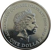 1 Dollar - Elizabeth II (6th Portrait - Australian Coinage Portrait 1998-2019) – reverse