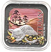1 Dollar - Elizabeth II (4th Portrait - Australian Seasons - Autumn) -  reverse