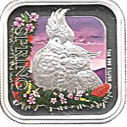 1 Dollar - Elizabeth II (4th Portrait - Australian Seasons - Spring) -  reverse