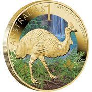 1 Dollar - Elizabeth II (Wet Tropics of Queensland) -  reverse