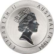 10 Dollars - Elizabeth II (3rd Portrait - Edwin Flack - Frosted Proof) -  obverse