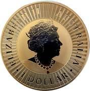 1 Dollar - Elizabeth II (6th Portrait - Australian Kangaroo) -  obverse