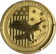 25 Dollars - Elizabeth II (Victory in the Pacific) -  reverse