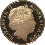 5 Dollars - Elizabeth II (Year of the Pig) -  obverse