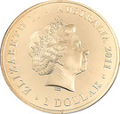 1 Dollar - Elizabeth II (Wallabies - Men of Gold) – obverse