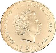 1 Dollar - Elizabeth II (Wallabies - Men of Gold) -  obverse