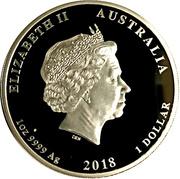 1 Dollar - Elizabeth II (WWI Armistice) -  obverse