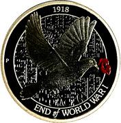 1 Dollar - Elizabeth II (WWI Armistice) -  reverse