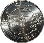 20 Cents - Elizabeth II (Anzac Spirit - Independant) – reverse