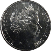 20 Cents - Elizabeth II (Anzac Spirit - Loyal) – obverse