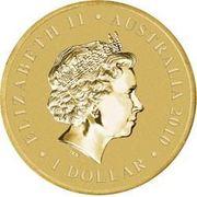 1 Dollar - Elizabeth II (Burke & Wills 150 Years) -  obverse