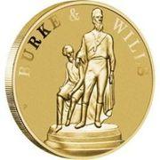1 Dollar - Elizabeth II (Burke & Wills 150 Years) -  reverse