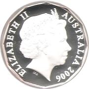 50 Cents - Elizabeth II (80th Birthday) -  obverse