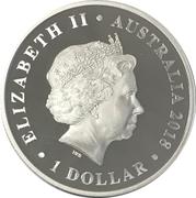 1 Dollar - Elizabeth II (Macquarie Lighthouse) – obverse
