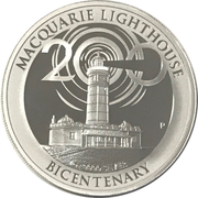 1 Dollar - Elizabeth II (4th Portrait - Macquarie Lighthouse) -  reverse