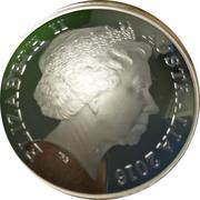 5 Dollars - Elizabeth II (Northern Sky - Cygnus) -  obverse