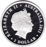 1 Dollar - Elizabeth II (Celebrate Australia - Great Barrier Reef) -  obverse