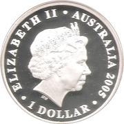 1 Dollar - Elizabeth II (Rotary Centenary) -  obverse