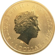 1 Dollar - Elizabeth II (Aviation) -  obverse