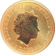 1 Dollar - Elizabeth II (Red Cross) -  obverse
