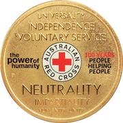 1 Dollar - Elizabeth II (Red Cross) -  reverse