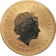 1 Dollar - Elizabeth II (Dirk Hartog Australian Landing) -  obverse