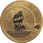 1 Dollar - Elizabeth II (Dirk Hartog Australian Landing) -  reverse