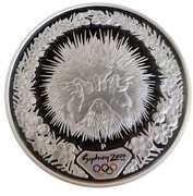 "5 Dollars - Elizabeth II (""Sydney 2000 Series"" Silver Bullion Coinage) -  reverse"
