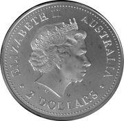 2 Dollars - Elizabeth II (Australian Peacekeepers - Army) -  obverse