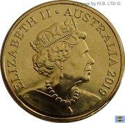 1 Dollar - Elizabeth II (6th Portrait - Mr Squiggle 60 Years) -  obverse