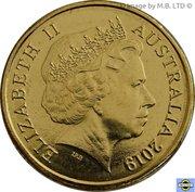 2 Dollar - Elizabeth II (4th Portrait - Mr Squiggle 60 Years, Gus) -  obverse
