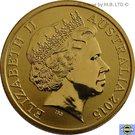 1 Dollar - Elizabeth II (4th Portrait - NRL - Moments That Matter - Colourised) – obverse