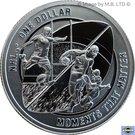 1 Dollar - Elizabeth II (4th Portrait - NRL - Moments That Matter - Silver Proof) – reverse