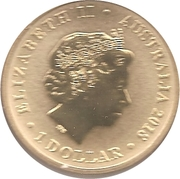 1 Dollar - Elizabeth II (Merry Christmas) – obverse