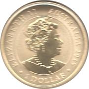 1 Dollar - Elizabeth II (Australian Citizenship) – obverse
