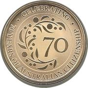 1 Dollar - Elizabeth II (Australian Citizenship) – reverse