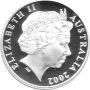 5 Dollars - Elizabeth II (Endeavour) – obverse