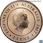 1 Cent - Elizabeth II (Planetary Coins - Pluto) -  obverse