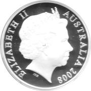 5 Dollars - Elizabeth II (AVRO 504K) -  obverse