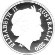 5 Dollars - Elizabeth II (BOEING 747) -  obverse