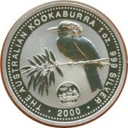 1 Dollar - Elizabeth II (Australian Kookaburra - Virginia) -  reverse