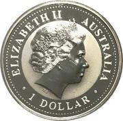 1 Dollar - Elizabeth II (Australian Kookaburra - July) -  obverse