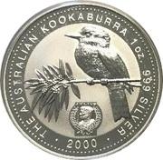 1 Dollar - Elizabeth II (Australian Kookaburra - July) -  reverse