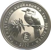 1 Dollar - Elizabeth II (4th Portrait - Australian Kookaburra - March Privy) -  reverse